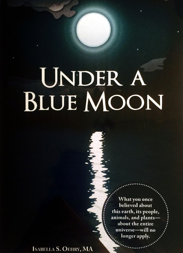 Under A Blue Moon - Book Cover